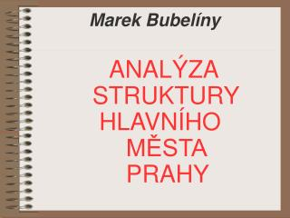 Marek Bubelíny