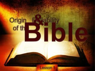 Origin   Reliability   of the