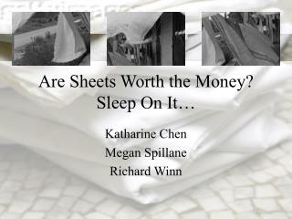 Are Sheets Worth the Money? Sleep On It…