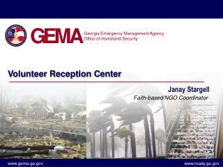 Volunteer Reception Center