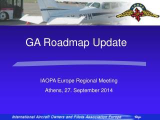 IAOPA  Europe Regional Meeting Athens, 27. September 2014