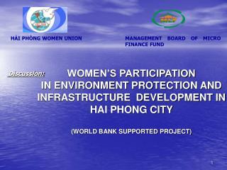 HẢI PHÒNG WOMEN UNION