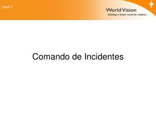 Comando de Incidentes