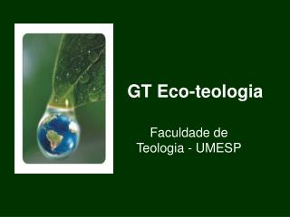 GT Eco-teologia