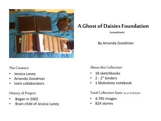 A Ghost of Daisies Foundation (a pseudonym)