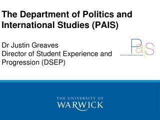 Why Study Politics?