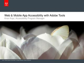 Web & Mobile App Accessibility with Adobe Tools