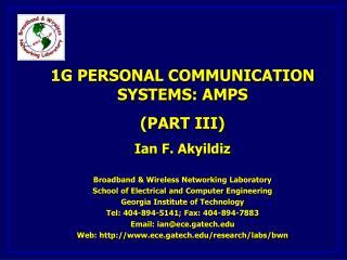 AMPS (Advanced Mobile Phone Service)