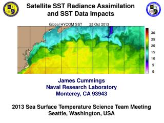 Satellite SST Radiance Assimilation                   and SST Data Impacts