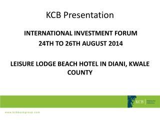 KCB Presentation