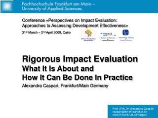 Historical Review – The Evaluation Gap