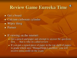 Review Game Eureeka Time