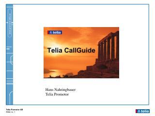 Hans Nahringbauer Telia Promotor