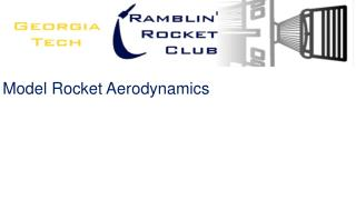 Model Rocket Aerodynamics