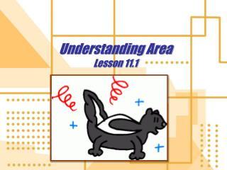 Understanding Area Lesson 11.1