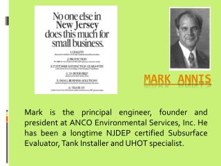 Mark Annis Gilliete Of ANCO works