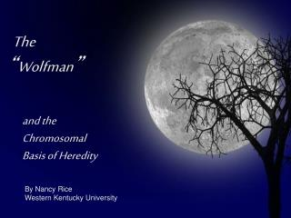 """The  """" Wolfman """""""