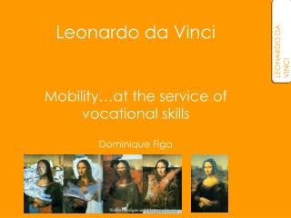 Mobility…at the service of  vocational skills Dominique Figa