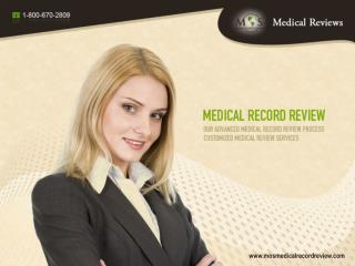MOS Medical Record Review Services