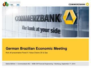 German Brazilian Economic Meeting