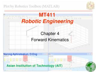 MT411 Robotic Engineering