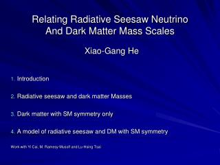 Relating Radiative Seesaw Neutrino  And Dark Matter Mass Scales