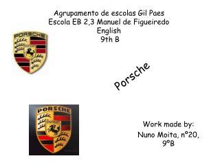 Agrupamento de escolas Gil Paes Escola EB 2,3 Manuel de Figueiredo English  9th B