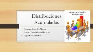 Distribuciones Acumuladas