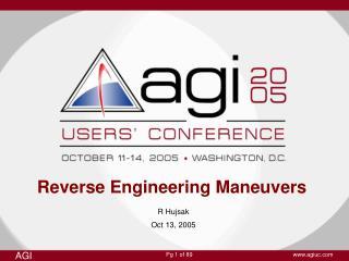 Reverse Engineering Maneuvers