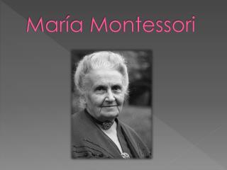 Mar a Montessori