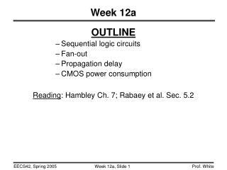 Week 12a