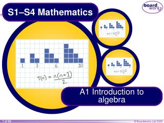 S1–S4 Mathematics