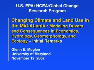 U.S. EPA: NCEA