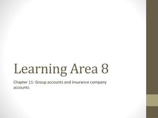 Learning Area 8