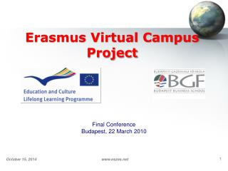 Erasmus Virtual Campus Project