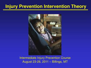 Injury Prevention Intervention Theory