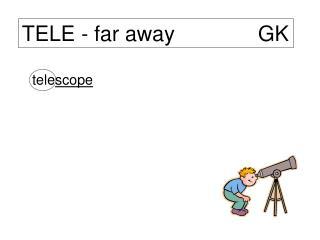 TELE - far away              GK