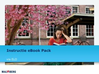 Instructie eBook  Pack