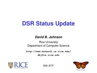 DSR Status Update