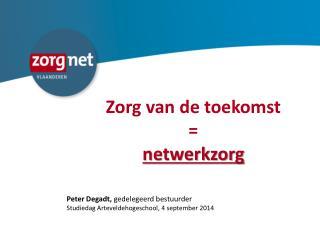 Zorg van de toekomst  =  netwerkzorg