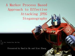 A Markov Process Based Approach to Effective Attacking JPEG Steganography