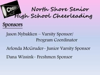 North Shore Senior High School Cheerleading