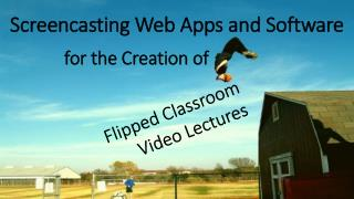 Screencasting Web Apps and Software