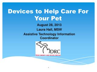 Devices to Help Care For Your Pet