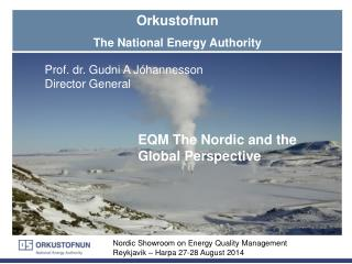 Orkustofnun The National Energy Authority
