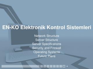 EN-KO Elektronik Kontrol Sistemleri