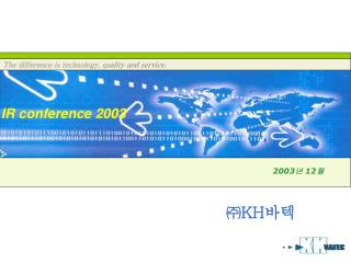 IR Conference 2003