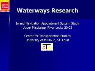 Waterways Research