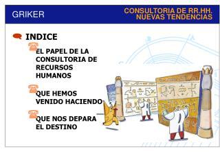 CONSULTORIA DE RR.HH. NUEVAS TENDENCIAS