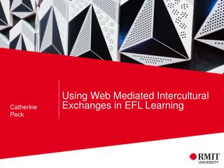 Using Web Mediated Intercultural Exchanges in  EFL  Learning